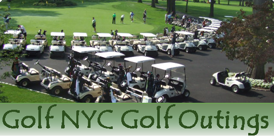 Picture of a GolfNYC golf outing